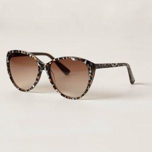 Anthropologie Spring Leopard sunglasses